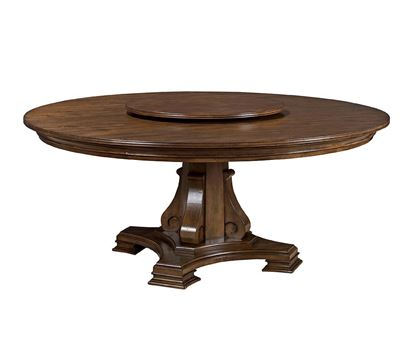 Stellia 72 inch Pedestal Table