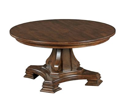 Portolone - Round Pedestal Cocktail Table