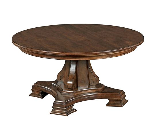 Portolone - Round Pedestal Cocktail Table