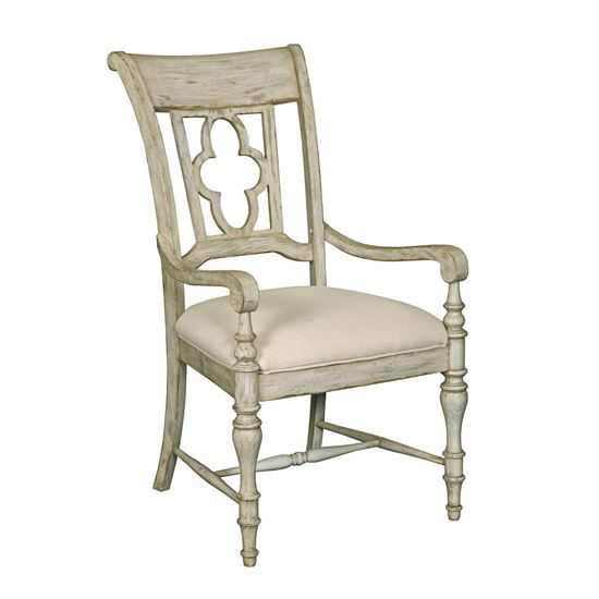 Weatherford Arm Chair - Cornsilk