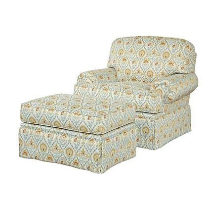 Baltimore Chair & Ottoman