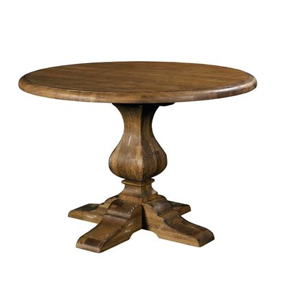 Artisan's Shoppe - Round Dining Table (Tobacco)