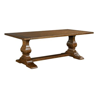 Artisan's Shoppe - Rectangular Trestle Table (Tobacco)
