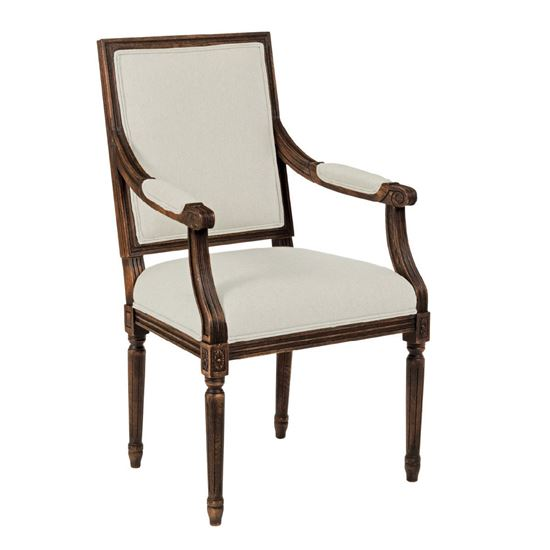 French Arm Chair (Tobacco)