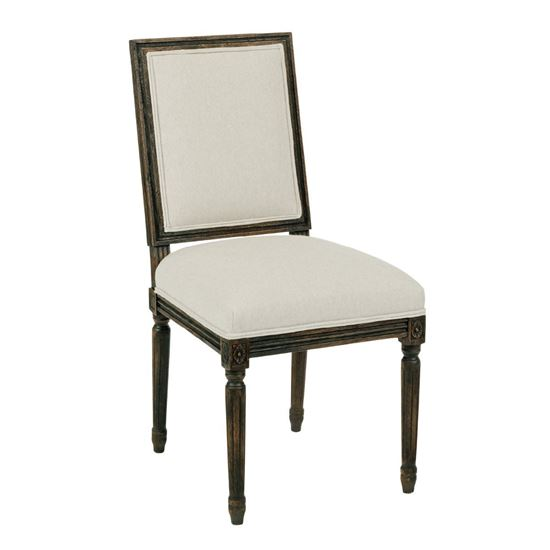 Artisanu0027s Shoppe   French Side Chair (Black Forest)