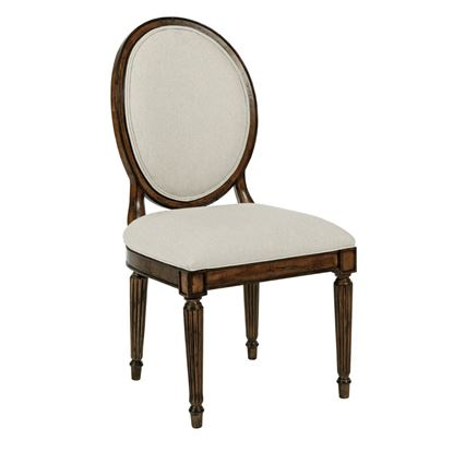 Oval Back Side Chair (Tobacco)