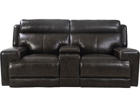 Glacier Power Reclining Love Seat