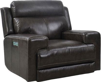 Glacier Leather Recliner