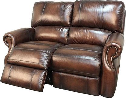 Hawthorne Brown Wipe Loveseat