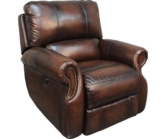 Hawthorne Brown Wipe Recliner
