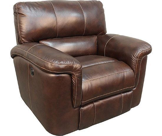 Hitchcock Cigar Leather Recliner
