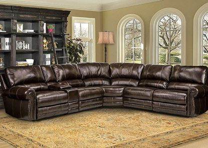 Thurston Havana Leather Sectional