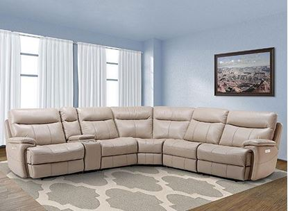 Dylan Creme Sectional