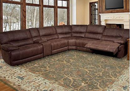 Pegasus Modular Sectional (Dark Kahlua finish)