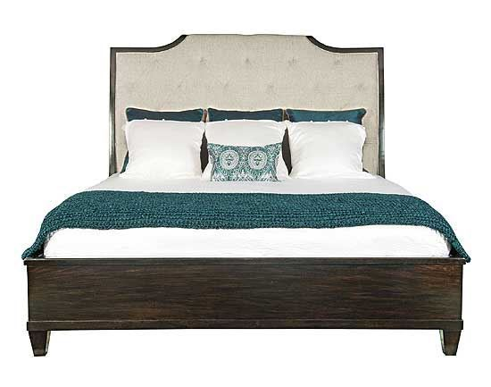Sutton House Upholstered Sleigh Bed