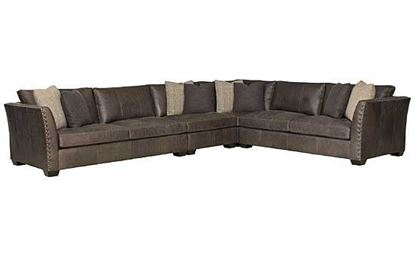 Brinton Leather Sectional