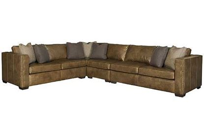 Galloway Leather Sectional