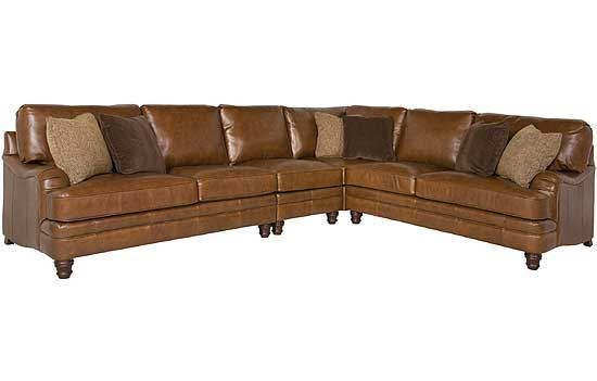 Tarleton Leather Sectional