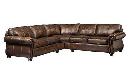 Van Gogh Leather Sectional