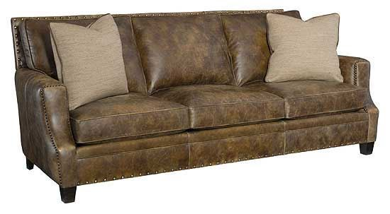Bernhardt - Barclay Leather Sofa