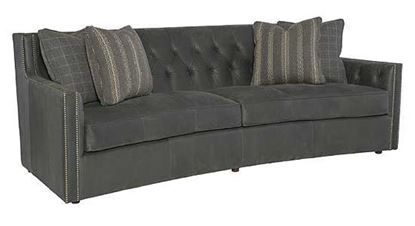 Candace Leather Sofa