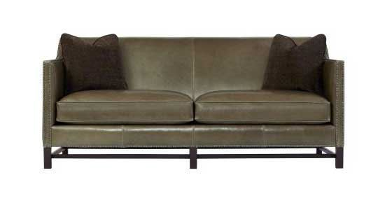 Bernhardt - Chatham Leather Sofa