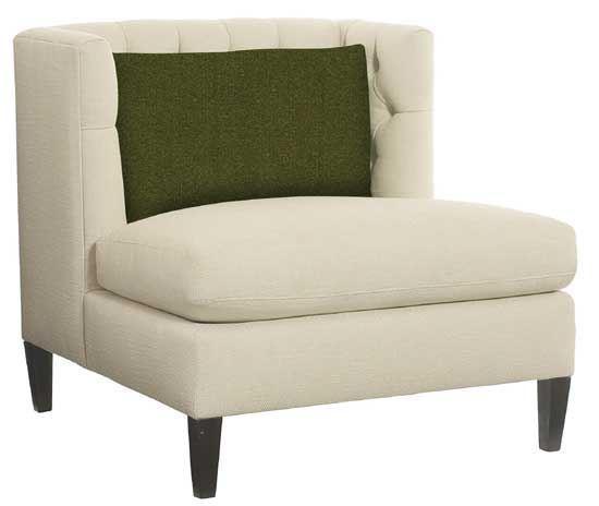 Abbey Armless Chair