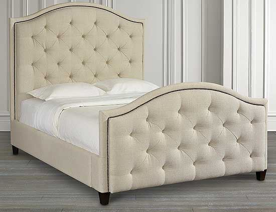 Vienna Upholstered Arched Bed