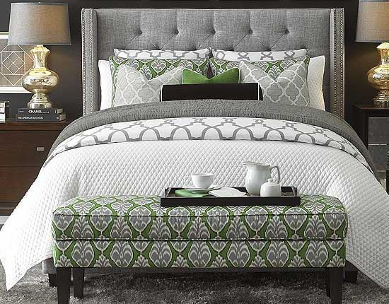 Dublin Upholstered Bedroom