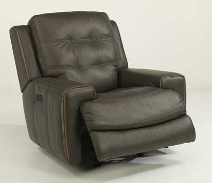 Wicklow Leather Power Gliding Recliner