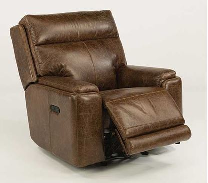 Sienna Leather Power Gliding Recliner