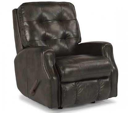 Devon Leather Glider Recliner
