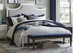 Bella Upholstered Panel Bed