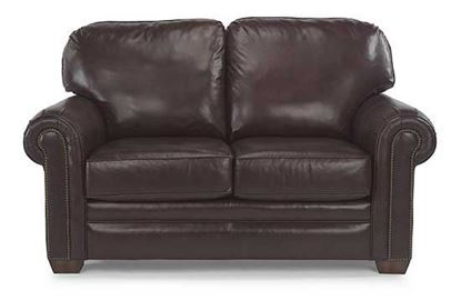 Harrison Leather Loveseat