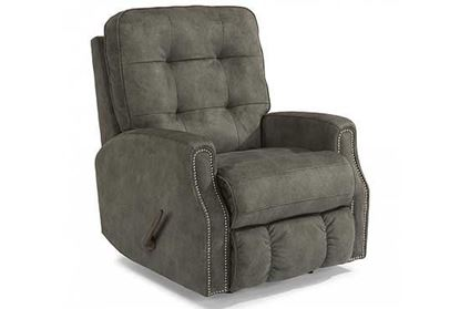 Flexsteel - Devon Recliner with Nailhead Trim