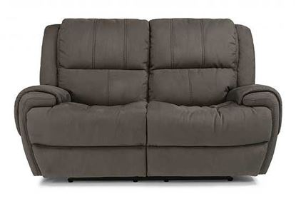 Nance Power Reclining Loveseat with Power Headrests