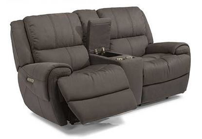 Nance Power Reclining Loveseat with Console