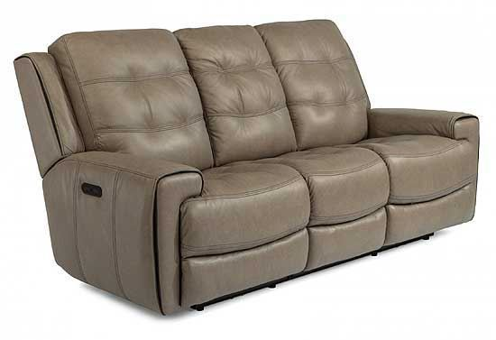 Wicklow Power Reclining Leather Sofa