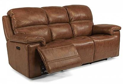Fenwick Power Reclining Leather Sofa