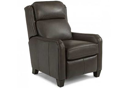 Poet Power High-Leg Leather Recliner