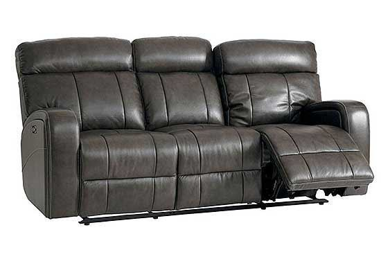 Beaumont Leather Reclining 3-Seat Sofa