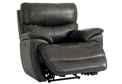Brookville Recliner by Bassett (Club Level)