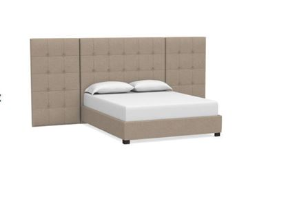 MODERN-Sausalito Upholstered Wing Bed