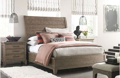 Plank Road Bedroom with Eastburn Sleigh Bed
