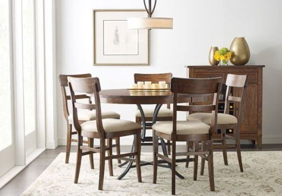 The Nook Maple Counter Height Dining