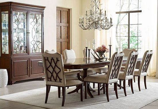 Hadleigh Dining Room with Double Pedestal Table
