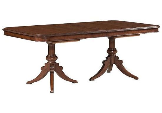 Hadleigh Double Pedestal Table