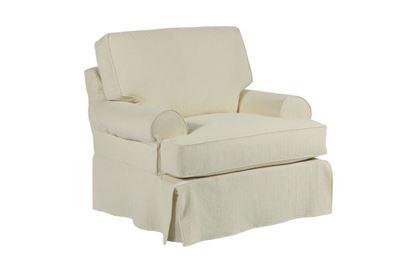 Samantha Slipcover Chair