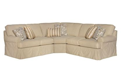 Samantha Slipcover Sectional