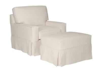 Sarah Slipcover Chaise